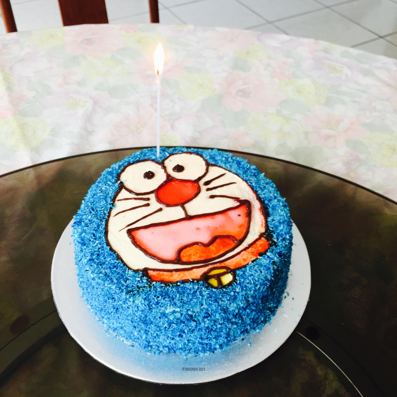Doraemon Birthday Cake Tetbilicious